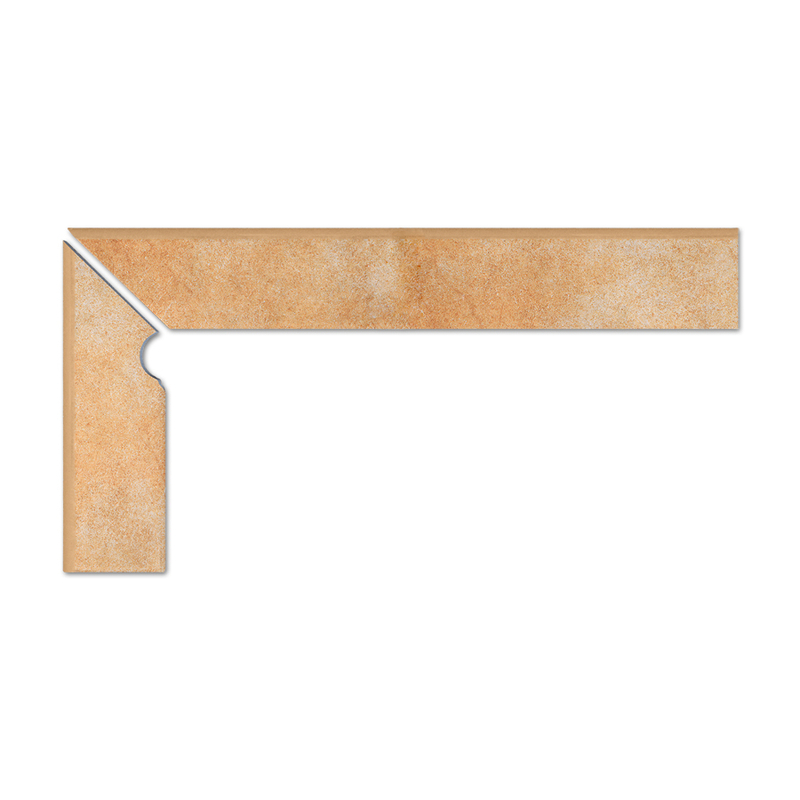 Goldbraun cokół schodowy 2-częściowy