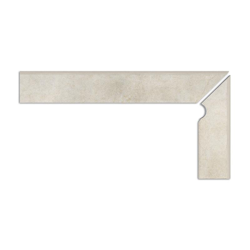 Tangra grau cokół schodowy 2-częściowy