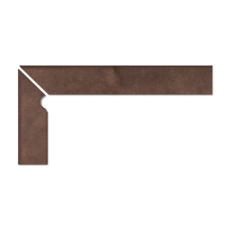 Umbra braun cokół schodowy 2-częściowy